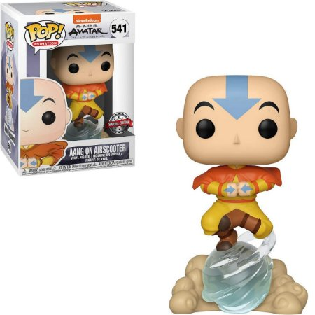 Funko Pop Avatar 541 Aang On Airscooter Special Edition