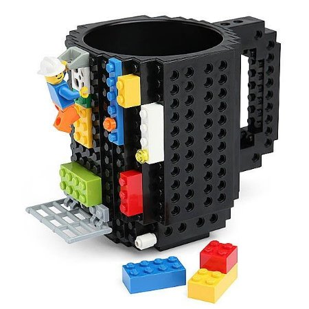 Caneca Lego Build-on Brick Mug Thinkgeek