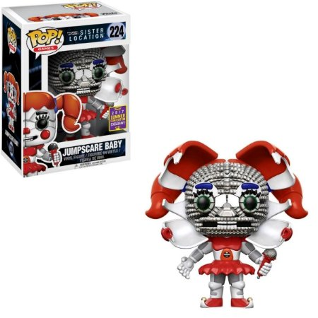Funko Pop Five Nights At Freddy's 224 Jumpscare Baby Exclusive