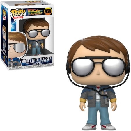 Funko Pop Back The Future 958 Marty With Glasses