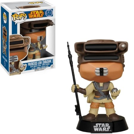 Funko Pop Star Wars 50 Princesa Leia Boushh