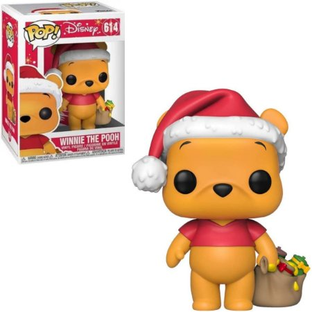 Funko Pop Disney 614 Holiday Winnie The Pooh Ursinho Pooh