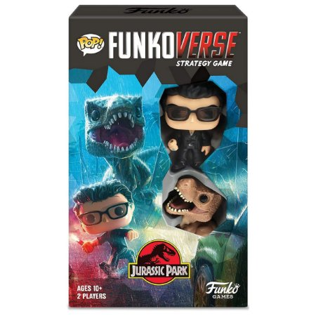 Funko Pop Funkoverse Strategy Game Jurassic Park - Inglês
