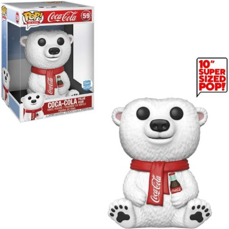 Funko Pop Coca-Cola 59 Polar Bear 26cm Limited Edition