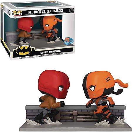 Funko Pop Batman 336 Red Hood Vs. Deathstroke Sdcc 2020