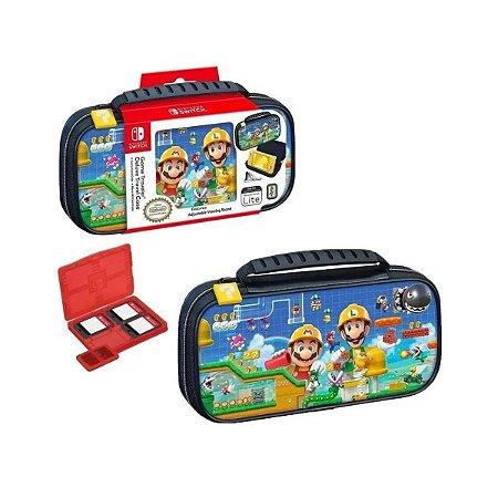 Deluxe Game Traveler Case Super Mario Maker Lite - Switch Lite
