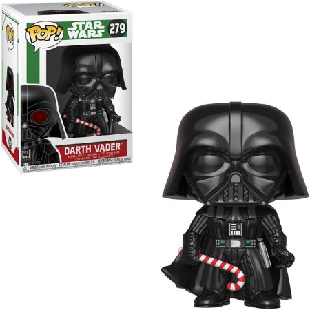 Funko Pop Star Wars 279 Darth Vader Holiday Candy Cane