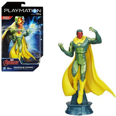 Figura Playmation Marvel Avengers Vision Visão