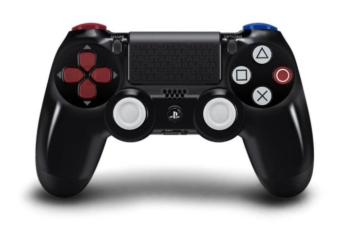 Controle Dualshock 4 Darth Vader Edition