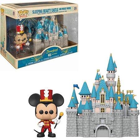 Funko Pop Disney 65th 21 Mickey Sleeping Beauty Castle