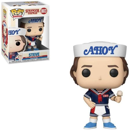 Funko Pop Stranger Things 803 Steve with Hat and Ice Cream