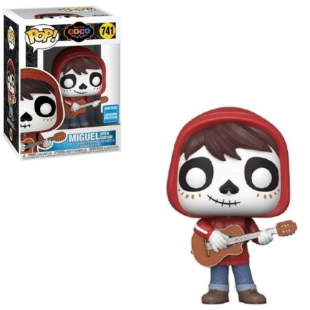 Funko Pop Disney Coco 741 Miguel w/ Guitar Exclusive