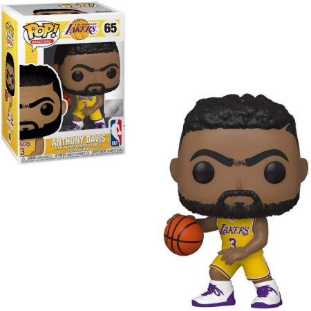 Funko Pop NBA 65 Anthony Davis Los Angeles Lakers