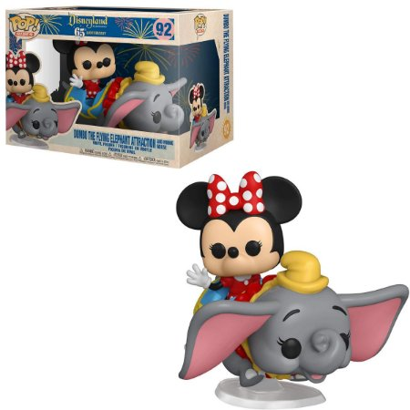 Funko Pop Disney 92 Dumbo Flying Elephant And Minnie Mouse