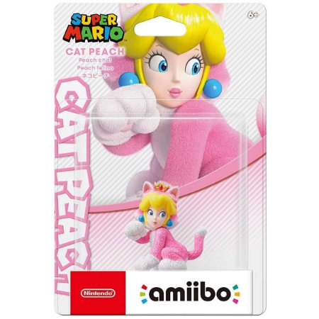 Amiibo Cat Peach Super Mario Series - Switch 3Ds Wii U