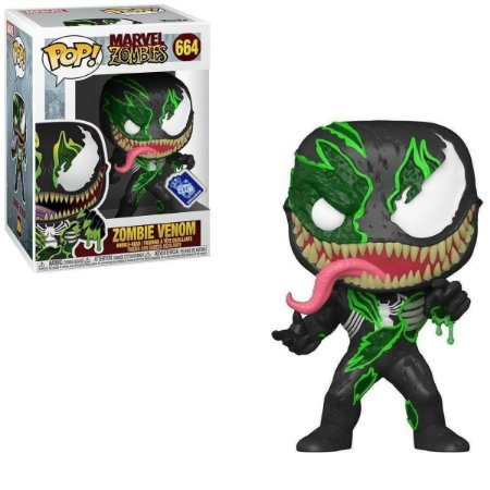 Funko Pop Marvel Zombies 664 Zombie Venom Exclusive