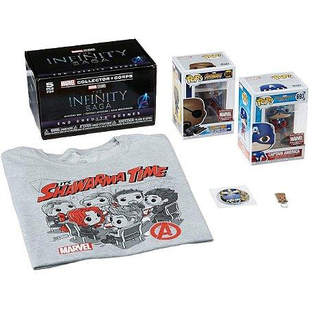Funko Pop Marvel Collector Corps The Infinity Saga - M