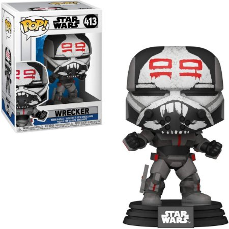 Funko Pop Star Wars Clone Wars 413 Wrecker
