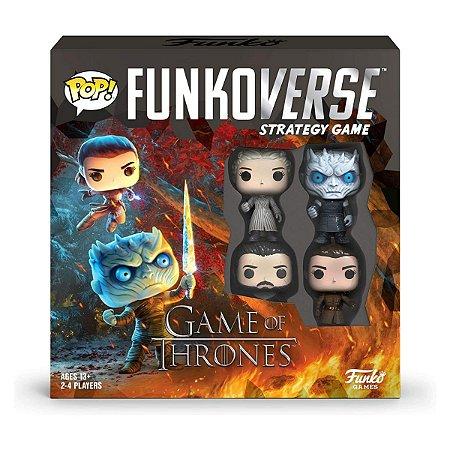 Funko Pop Funkoverse Game of Thrones Base Set - Inglês