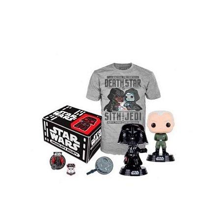 Funko Pop Collectors Box Star Wars Death Star - Tam. G
