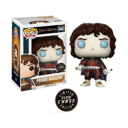 Funko Pop Lord Of The Rings 444 Frodo Baggins Glow Chase Limited