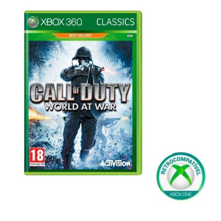 Call of Duty World at War - Xbox 360 / Xbox One