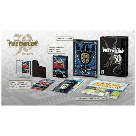 Fire Emblem 30th Anniversary Ed Shadow Dragon And The Blade Of Light - Switch