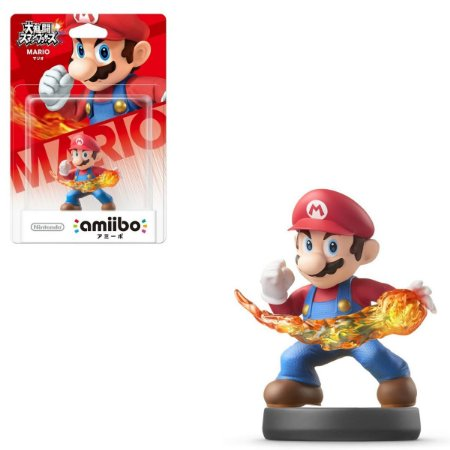Amiibo Mario Super Smash Bros