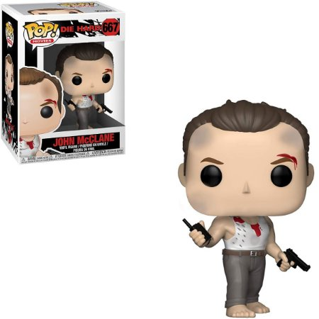 Funko Pop Die Hard 667 John McClane Duro De Matar