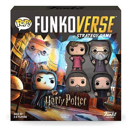 Funko Pop Funkoverse Strategy Game Harry Potter 102 Base Set - Inglês