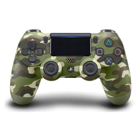 Controle DualShock 4 Wireless Green Camo Camuflado Verde - PS4