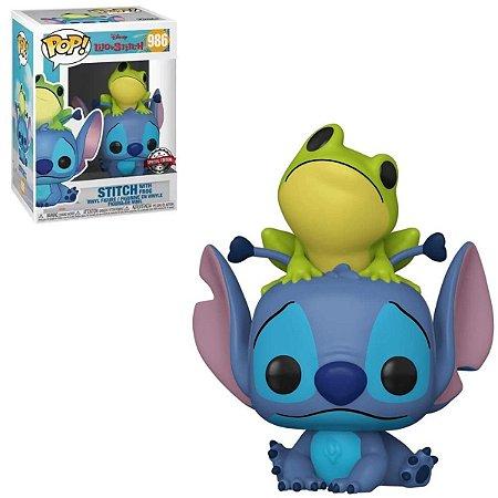 Funko Pop Disney Lilo & Stitch 986 Stitch w/ Frog