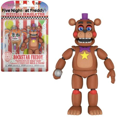 Funko Five Nights at Freddy's Pizza Simulator Rockstar Freddy