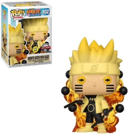 Funko Pop Naruto Shippuden 932 Naruto Six Path Sage Glows in the Dark