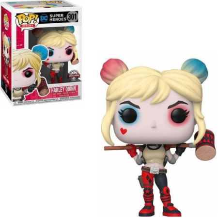 Funko Pop DC Super Heroes 301 Harley Quinn Special Edition