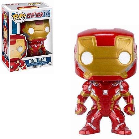Funko Pop Marvel 126 Iron Man