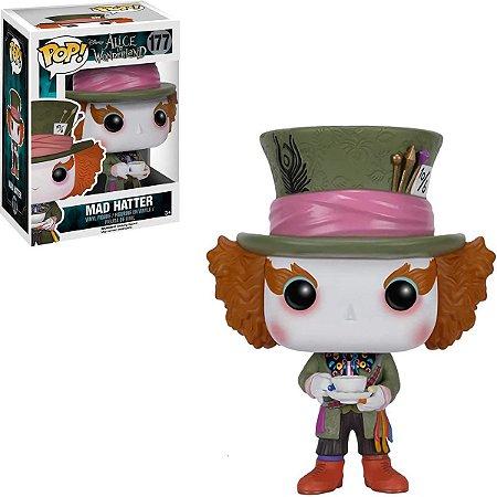 Funko Pop Disney Alice In Wonderland 177 Mad Hatter Chapeleiro