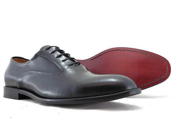 Sapato Oxford Couro Preto Barcelona Design