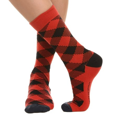 MEIA SOCKS ON THE BEAT - LUMBERJACK BLOOD