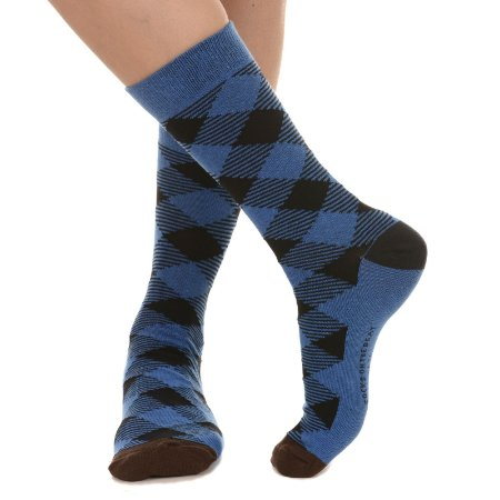 MEIA SOCKS ON THE BEAT - LUMBERJACK ROYAL