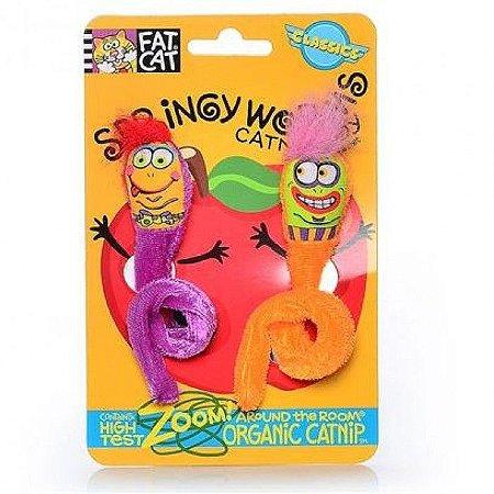 Brinquedo Fatcat Springy Worms
