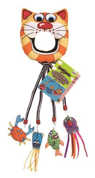 Brinquedo Fatcat Catfisher DoorKnob Hanger