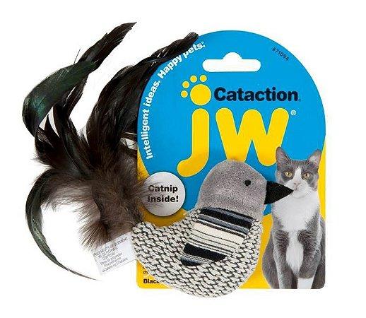 Brinquedo JW Gatos Bird Black and White