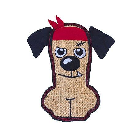 Pelucia Cachorro de Bandana Sisal Ultrarresistente Outward Hound
