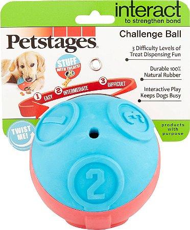 Bola Recheável Challenge Level Ball Petstages