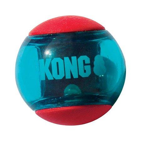 Bola Kong Squeezz Action Ball -3 Unidades