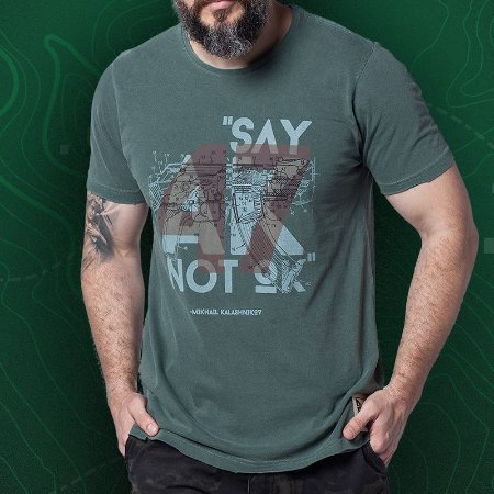 cAMISETA BAD BOY AK-47- ALPHA 17