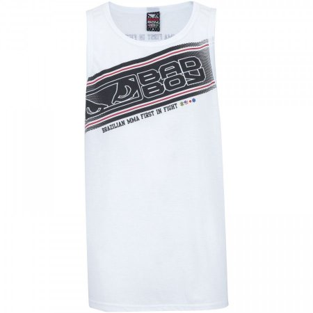Regata Bad Boy Stripe- Branca MBBI03
