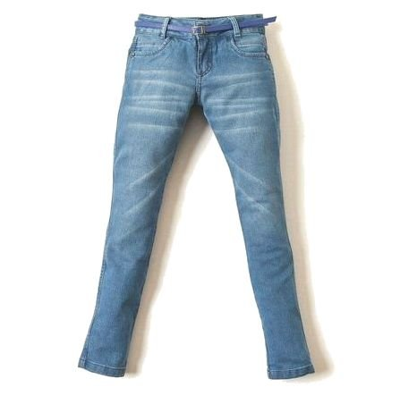Calça Feminina Jeans Blue Space