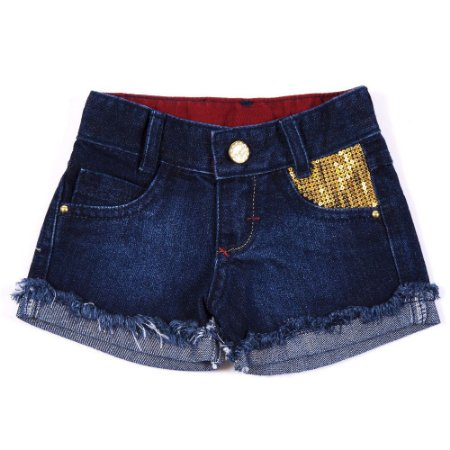 Shorts Jeans Sirius Golden Clube do Doce